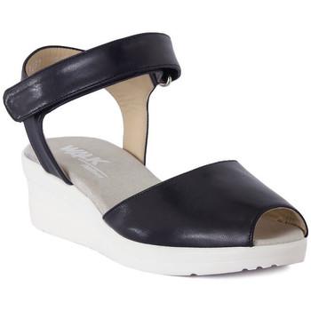 Chaussures Femme Sandales et Nu-pieds Melluso SANDALO ARC NOTTE Blu