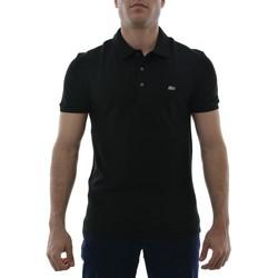 Vêtements Homme Polos manches courtes Lacoste ph4014 noir