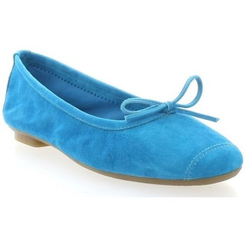 Chaussures Femme Ballerines / babies Reqin's Ballerines turquoise Turquoise