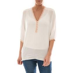 Vêtements Femme Tops / Blouses Barcelona Moda Top Leny Blanc Blanc