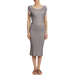 Vêtements Femme Robes longues Yaya Robe  Taupe Femme Taupe
