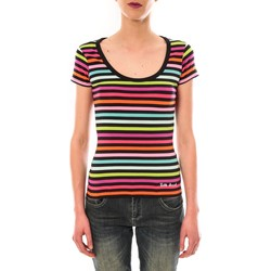 Vêtements Femme T-shirts manches courtes Little Marcel t-shirt line GCR MC 229 Multicolor