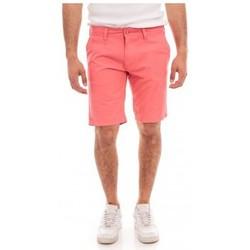 Vêtements Homme Shorts / Bermudas Ritchie BERMUDA CHINO BAGOO I Rouge clair