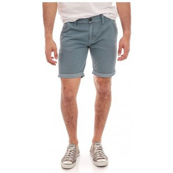 Vêtements Homme Shorts / Bermudas Ritchie BERMUDA CHINO BILLIT Bleu