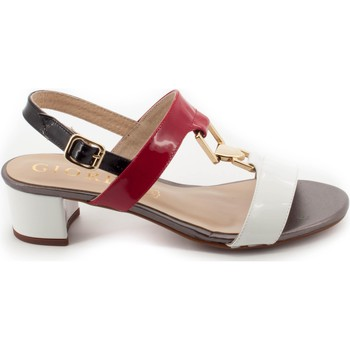 Chaussures Femme Sandales et Nu-pieds Giorda 37595 Blanc