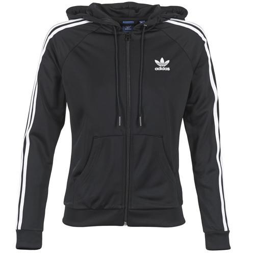 Joggings & Survêtements adidas Originals SLIM FZ HOODIE Noir 350x350