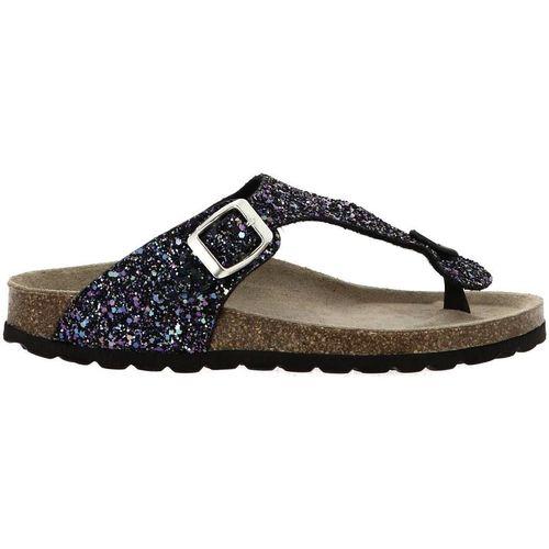 Chaussures Femme Tongs La Maison De L'espadrille 3510 noir
