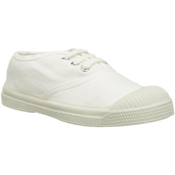 Chaussures Fille Baskets basses Bensimon tennis e15004c157 blanc