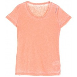 Vêtements Femme T-shirts manches courtes Reebok Sport T-shirt  Yoga Bo Tee/corail Orange