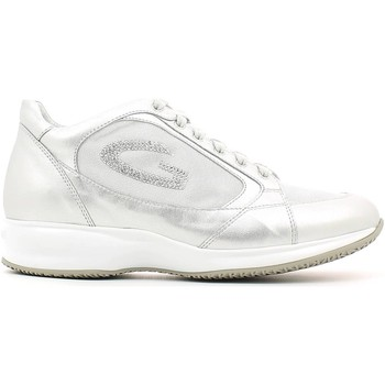 Chaussures Femme Baskets basses Alberto Guardiani SD56371B Chaussures lacets Femmes Argent Argent