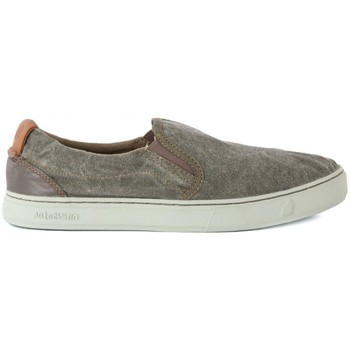 Chaussures Homme Slips on Satorisan SOUMEI STONE WASHED Verde