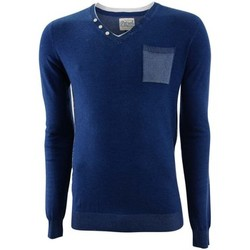 Vêtements Homme Pulls Petrol Industries Round neck double collar knit light indigo