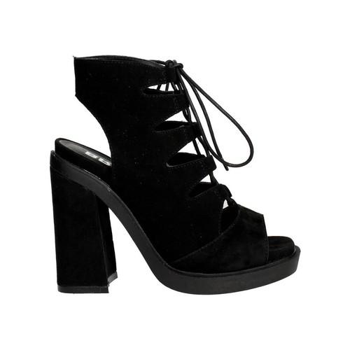 Chaussures Femme Sandales et Nu-pieds Bronx 84443-D Sandale Femme Noir Noir