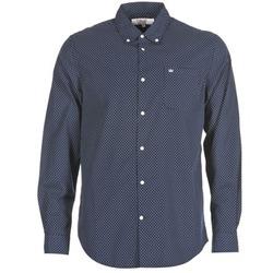 Vêtements Homme Chemises manches longues Vicomte A. JANOUPE Marine