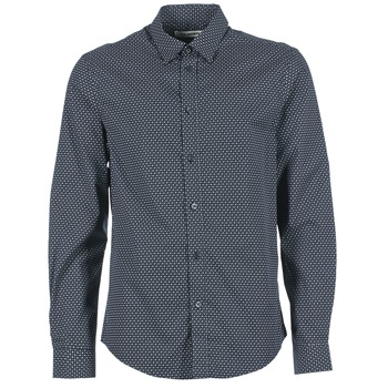 Chemises Ben Sherman LS MICRO PAISLEY Marine 350x350