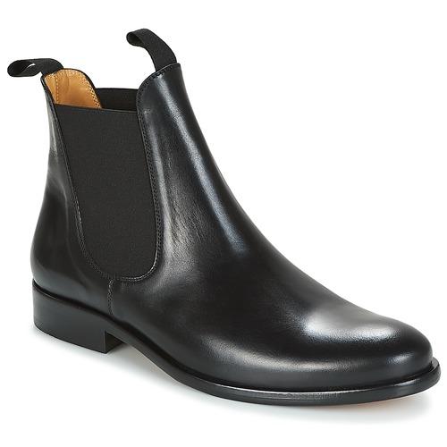 Bottines / Boots Brett & Sons LOUVAL Noir 350x350