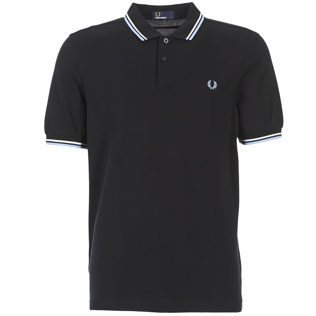 Fred Perry TWIN TIPPED SHIRT Noir