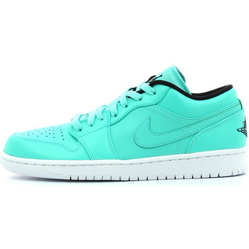 Chaussures Homme Baskets basses Nike Air  1 Low Hyper turquoise