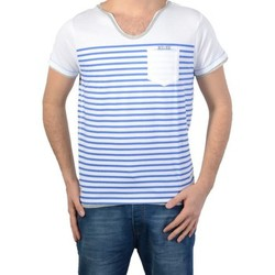 T-shirts manches courtes Deeluxe T shirt Deeluxe S161152 Fisher White