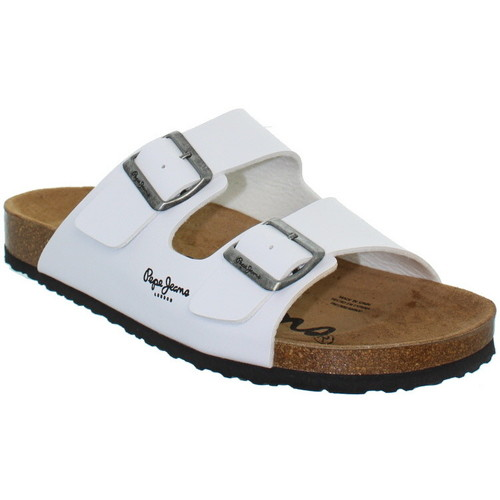 Chaussures Homme Tongs Pepe jeans Sandales  ref_pep36933-blanc blanc