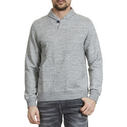 Sweats Loreak Mendian Sweat Shirt  Aia Col ChÂle Gris Chine Homme