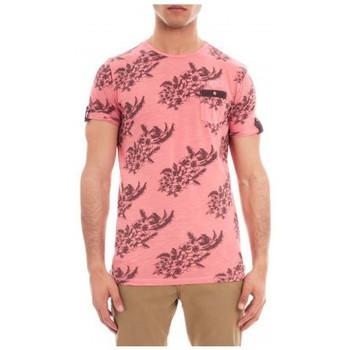 Vêtements Homme T-shirts manches courtes Ritchie T-SHIRT MANOA Rose