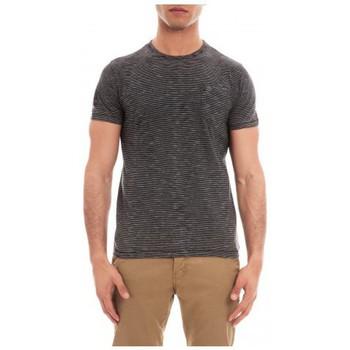 Vêtements Homme T-shirts manches courtes Ritchie T-SHIRT MAHET Noir
