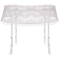 Sous-vêtements Femme Porte-jarretelles Julimex Porte-jarretelles glamour Lilly blanc Blanc
