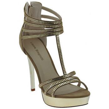 Chaussures Femme Sandales et Nu-pieds Laura Biagiotti Sandalo Gioiello Plateau Sandales