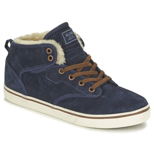 Chaussures Homme Baskets montantes Globe MOTLEY MID FUR Marine