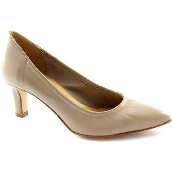 Chaussures Femme Escarpins Donna Più PI FEMME HOMME M52251 beige dcollet femme stretch unlined Beige