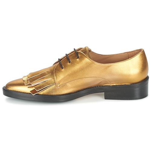 Derbies Gold Femme Castaner Chaussures Gertrud VpLqjSUMzG