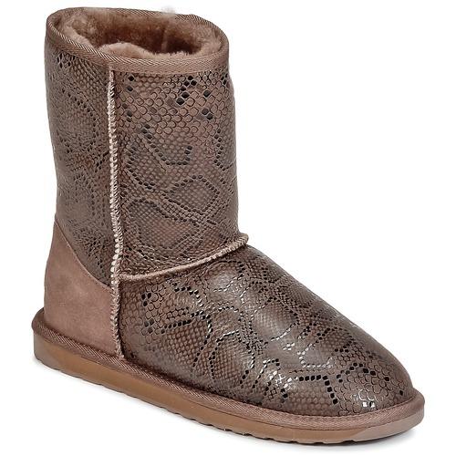 Bottines / Boots EMU STINGER PRINT LO Marron 350x350