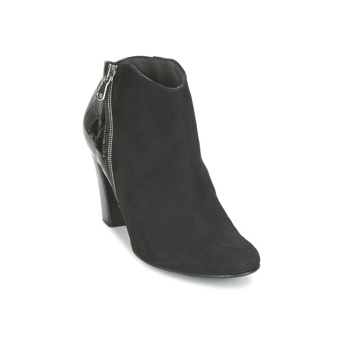 Bottines / Boots France Mode NANTES Noir verni 350x350