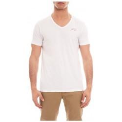 Vêtements Homme T-shirts manches courtes Ritchie T-SHIRT V MOSHE Blanc