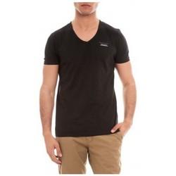 Vêtements Homme T-shirts manches courtes Ritchie T-SHIRT V MOSHE Noir