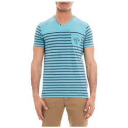 Vêtements Homme T-shirts manches courtes Ritchie T-SHIRT V MALEK Bleu