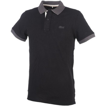 Polos manches courtes Blend Of America Psy black mc polo