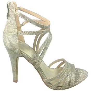 Chaussures Femme Sandales et Nu-pieds Cassis Côte D'azur Sandales Multibrides Ouvert Oria Argent Argent