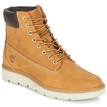 Chaussures Femme Boots Timberland KENNISTON 6IN LACE UP Beige