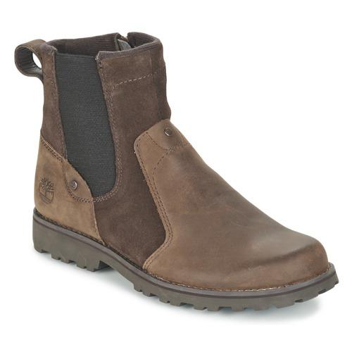 Bottines / Boots Timberland ASPHALT TRAIL CHELSEA Marron 350x350