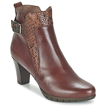 Chaussures Femme Bottines Wonders SAVODIA Marron