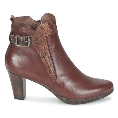 Bottines Marron Wonders Chaussures Savodia Femme dhQrxtsC