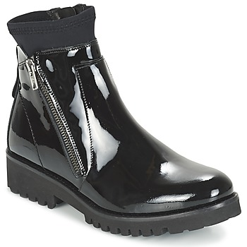 Bottines / Boots Regard REJABI Noir verni 350x350