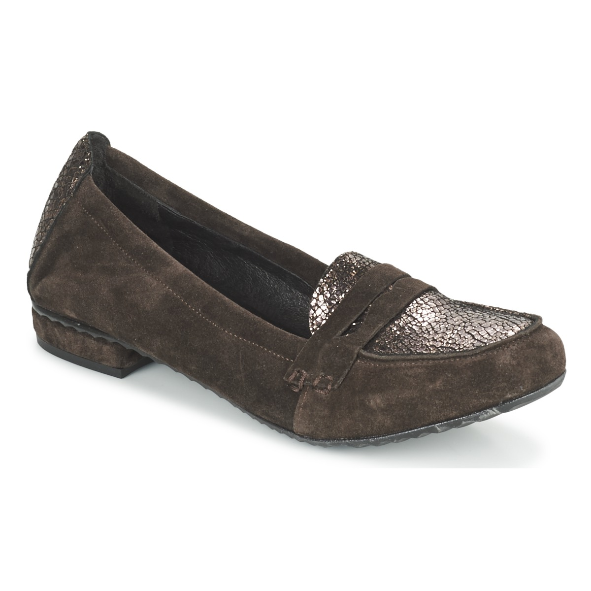 Mocassins Regard REMAVO Marron