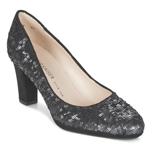 Peter Kaiser KOLIN Noir sequins - Livraison Gratuite avec  - Chaussures Escarpins Femme