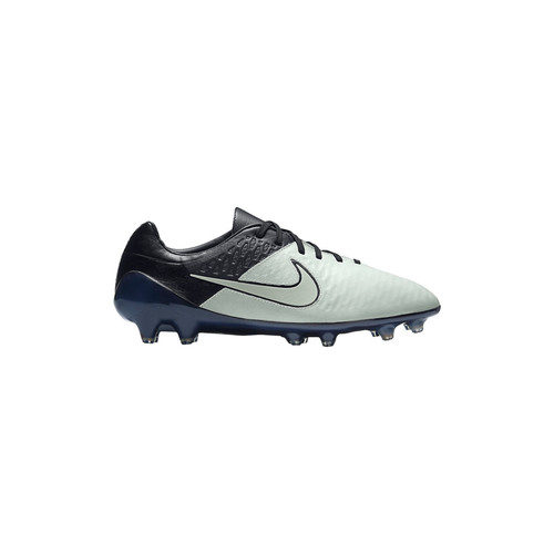 Chaussures Homme Football Nike Magista Opus Leather FG Weiss