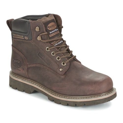 Chaussures Homme Boots Dockers by Gerli IRETOK Café