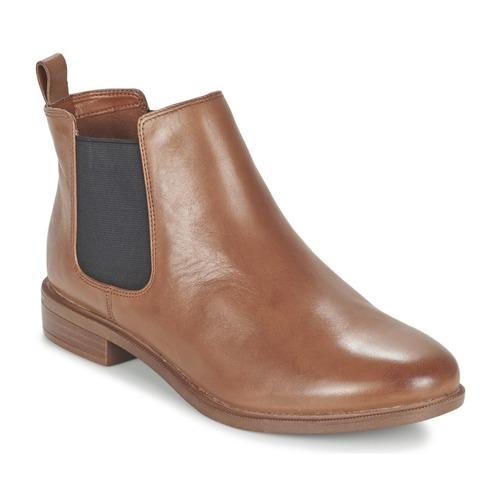 Bottines / Boots Clarks TAYLOR SHINE Marron 350x350