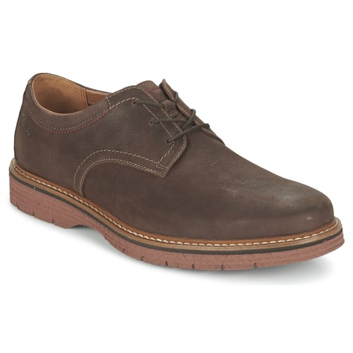 Clarks newkirk plain marron - Chaussures Derbies Homme